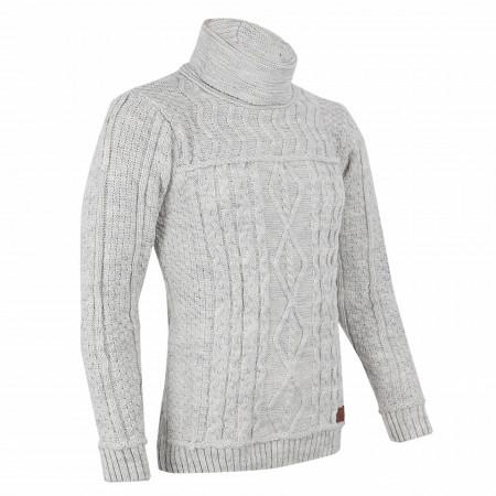 Bluză Brian White - Bluza este cel mai versatil articol vestimentar din sezonul rece, o piesă cu reputaţie a stilului casual având compoziţia 50% lână 50% acrilic - Deppo.ro