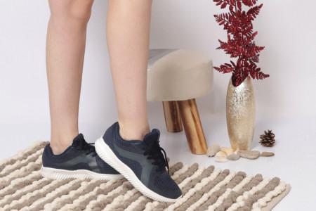 Pantofi Sport pentru dame Cod B8179-2 - Pantofi sport pentru dame dinpanză,talpă din spumă  Foarte ușori și comozi  Închidere prin șiret. - Deppo.ro