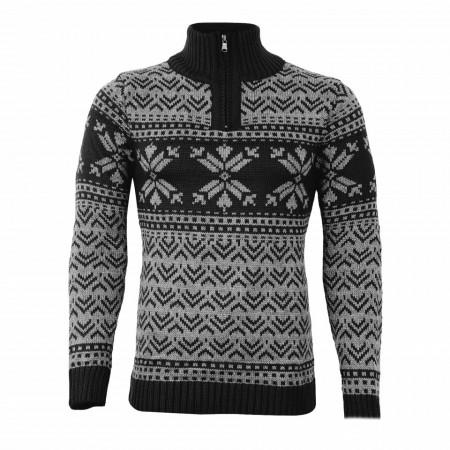 Bluză Aneris Gri - Bluza este cel mai versatil articol vestimentar din sezonul rece, o piesă cu reputaţie a stilului casual având compoziţia 50% lână 50% acrilic - Deppo.ro