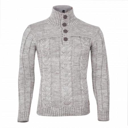 Bluză Tavis Crem - Bluza este cel mai versatil articol vestimentar din sezonul rece, o piesă cu reputaţie a stilului casual având compoziţia 50% lână 50% acrilic - Deppo.ro