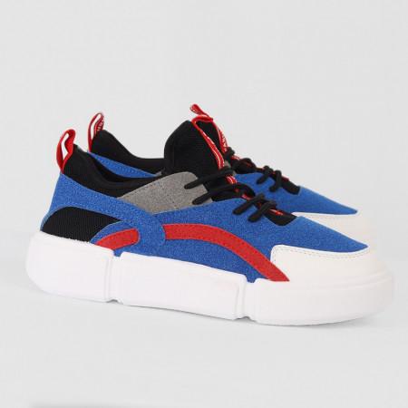 Pantofi Sport Cod 685 - Pantofi sport din piele ecologică întoarsă Închidere prin șiret Foarte comfortabili - Deppo.ro