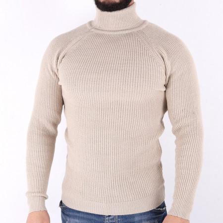 Bluză Bradly White - Bluza groasă perfectă pentru sezonul rece, o piesă cu reputaţie a stilului casual având compoziţia 70% material acrilic şi 30% lână - Deppo.ro