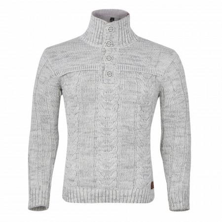 Bluză Tavis Albă - Bluza este cel mai versatil articol vestimentar din sezonul rece, o piesă cu reputaţie a stilului casual având compoziţia 50% lână 50% acrilic - Deppo.ro