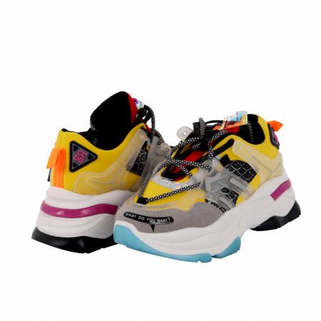 Pantofi Sport Chasity Yellow