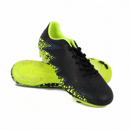 Pantofi Sport cu crampoane cod K10 Negri - Pantofi sport cu crampoane  Închidere prin șiret  Foarte comozi, ideali pentru sporturi practicate pe teren cu gazon - Deppo.ro