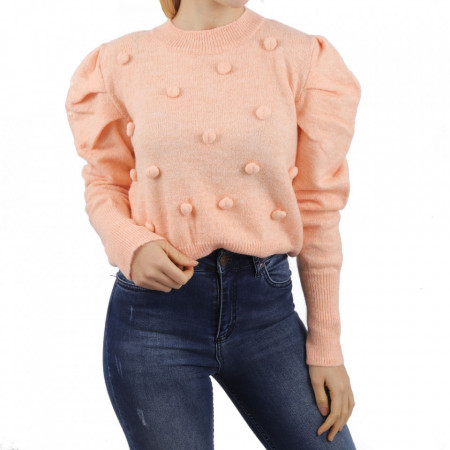 Bluză pentru dame cod F90 Pink - Bluzăpentru dame - Deppo.ro