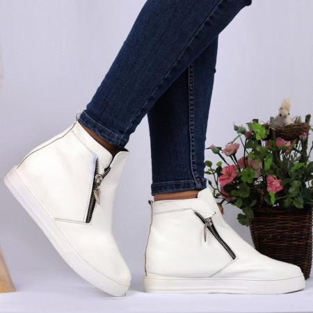 Pantofi Sport Cod 697 - Pantofi sport din piele ecologică  Închidere prin fermoar Foarte comfortabili - Deppo.ro