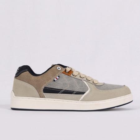 Pantofi Sport pentru bărbați cod A8298-3 Bej - Pantofi sport pentru bărbați  Ideali pentru ieșiri si practicarea exercitiilor în aer liber - Deppo.ro