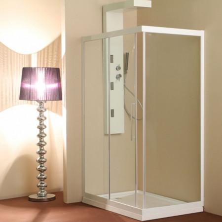 Cabină de duș Caty - Echipament disponibil: cadita turnata cu posibilitatea de montaj fara suport si masca direct pe pardoseala (acest tip de montaj necesita sifon ingropat in pardoseala); - Deppo.ro