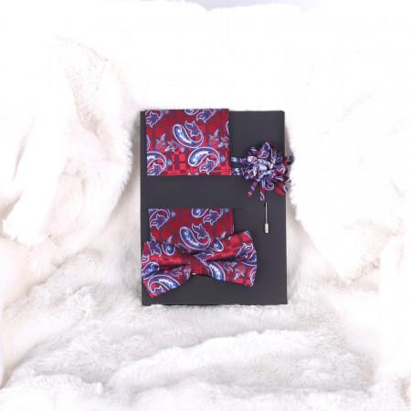 Pachet batistă, papion și broșă Wilson - Cumpără îmbrăcăminte, încăltăminte și accesorii de calitate cu un stil aparte mereu în ton cu moda, prețuri accesibile și reduceri reale, transport în toată țara cu plata la ramburs - Deppo.ro