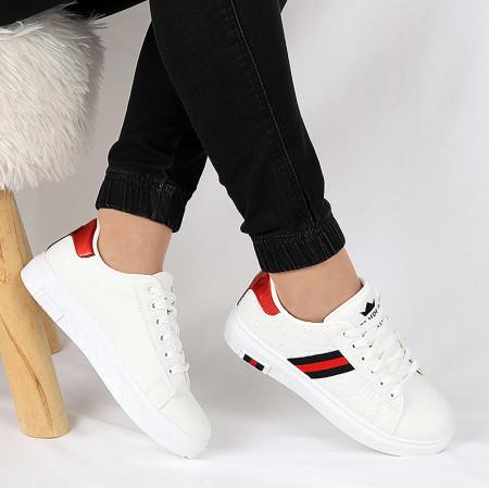 Pantofi sport Noemi Albi - Pantofi sport negrii  din material textil  si un calapod comod - Deppo.ro