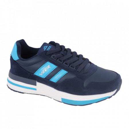 Pantofi sport pentru bărbați cod 2010-3 Deep Blue - Pantofi pentru bărbați foarte comozi. - Deppo.ro