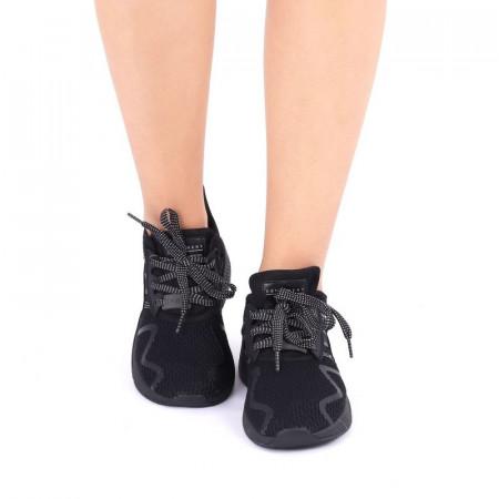 Pantofi Sport pentru dame cod AXB9020A-1 Negri - Pantofi sport pentru dame, foarte comozi, ideali pentru ieșiri si practicarea exercitiilor în aer liber - Deppo.ro