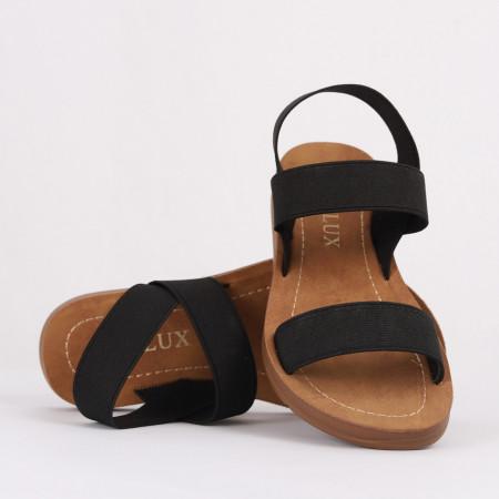 Sandale pentru fete cod CD12 Negre - Sandale pentru fete foarte comode ideale pentru sezonul estival - Deppo.ro