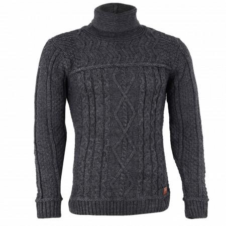 Bluză Brian Dark Grey - Bluza este cel mai versatil articol vestimentar din sezonul rece, o piesă cu reputaţie a stilului casual având compoziţia 50% lână 50% acrilic - Deppo.ro