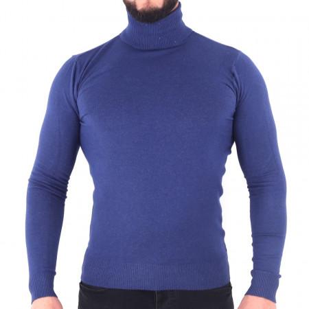 Bluză Maximilian Azure - Bluza simplă este cel mai versatil articol vestimentar din sezonul rece, o piesă cu reputaţie a stilului casual având compoziţia 81% Viscoză şi 19% Nailon - Deppo.ro