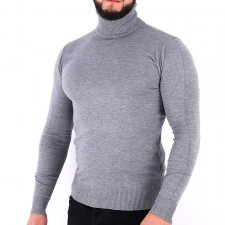 Bluză Maximilian Grey - Bluza simplă este cel mai versatil articol vestimentar din sezonul rece, o piesă cu reputaţie a stilului casual având compoziţia 81% Viscoză şi 19% Nailon - Deppo.ro