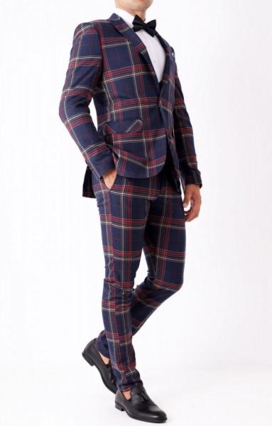 Costum slim fit Romulus - Cumpără îmbrăcăminte și încălțăminte de calitate cu un stil aparte mereu în ton cu moda, prețuri accesibile și reduceri reale, transport în toată țara cu plata la ramburs. - Deppo.ro
