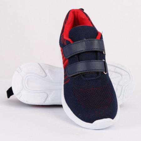 Pantofi sport pentru băieți cod KJ8199 Navy - Pantofi sport pentru băieți, foarte comozi, ideali pentru ieșiri si practicarea exercitiilor în aer liber - Deppo.ro