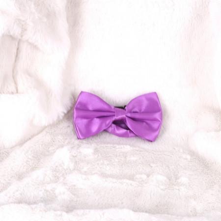 Papion mov lilac clasic - Cumpără îmbrăcăminte, încăltăminte și accesorii de calitate cu un stil aparte mereu în ton cu moda, prețuri accesibile și reduceri reale, transport în toată țara cu plata la ramburs - Deppo.ro