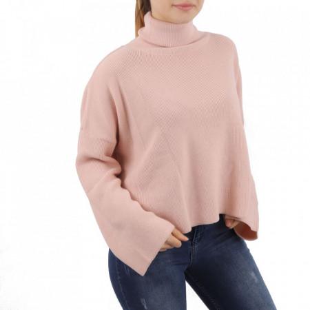 Bluză pentru dame cod F45 Pink - Bluzăpentru dame - Deppo.ro