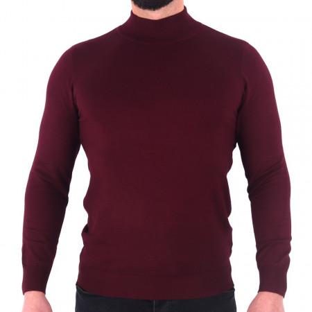 Bluză Xander Garnet - Bluza simplă este cel mai versatil articol vestimentar din sezonul rece, o piesă cu reputaţie a stilului casual având compoziţia 81% Viscoză şi 19% Nailon - Deppo.ro