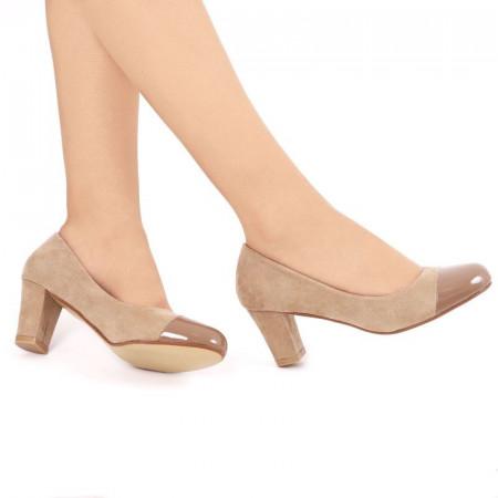 Pantofi Beti Bej - Cumpără îmbrăcăminte și încălțăminte de calitate cu un stil aparte mereu în ton cu moda, prețuri accesibile și reduceri reale, transport în toată țara cu plata la ramburs - Deppo.ro