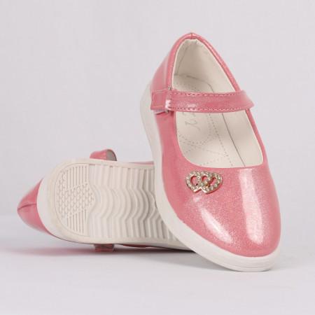 Pantofi pentru fete cod CP66 Roz - Pantofi pentru fete cu un design lejer ceea ce ii face foarte comozi la purtare - Deppo.ro