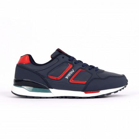 Pantofi Sport pentru bărbați cod 1629-3 Navy - Pantofi sport foarte comozi ideali pentru ieșiri si practicarea exercitiilor în aer liber - Deppo.ro
