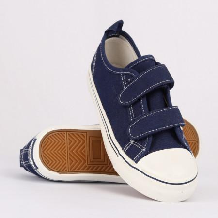 Sneakers pentru băieți cod HT982 Albastru Închis - Sneakers pentru băieți, foarte comozi, ideali pentru ieșiri si practicarea exercitiilor în aer liber - Deppo.ro