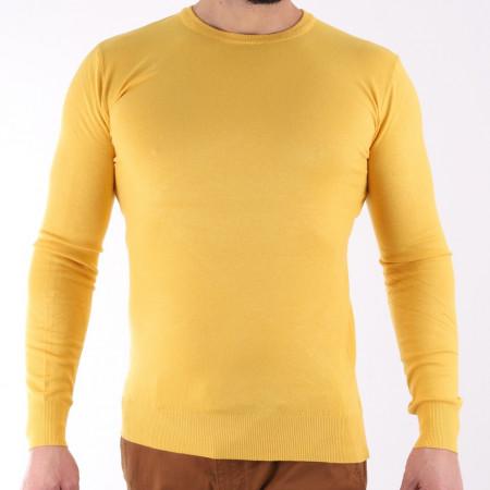 Bluză Damien Pineapple - Bluza simplă este cel mai versatil articol vestimentar din sezonul rece, o piesă cu reputaţie a stilului casual având compoziţia 78% Viscoză şi 22% Elastan - Deppo.ro