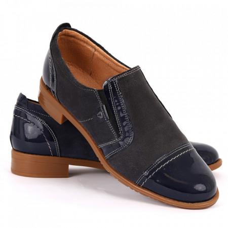 Pantofi din piele naturală Cod 484 - Pantofi damă din piele naturală  Foarte confortabili cu un tălpic special care conferă lejeritate chiar și în cazurile în care petreci mult timp stând în picioare. - Deppo.ro