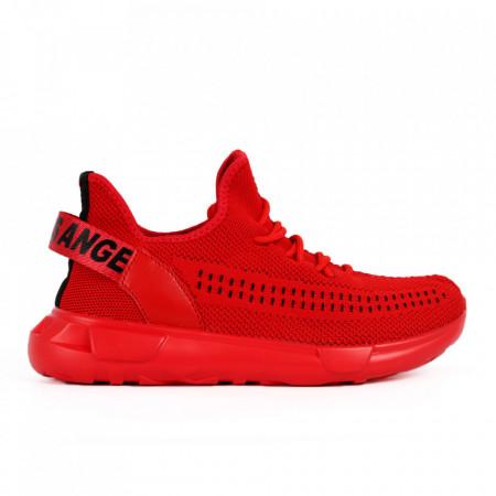 Pantofi Sport pentru bărbați cod RD083 Red - Pantofi sport pentru bărbați  Ideali pentru ieșiri si practicarea exercitiilor în aer liber - Deppo.ro