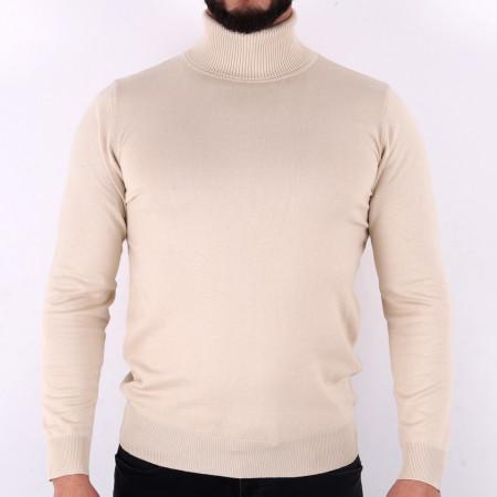 Bluză Maximilian Ivory White - Bluza simplă este cel mai versatil articol vestimentar din sezonul rece, o piesă cu reputaţie a stilului casual având compoziţia 81% Viscoză şi 19% Nailon - Deppo.ro