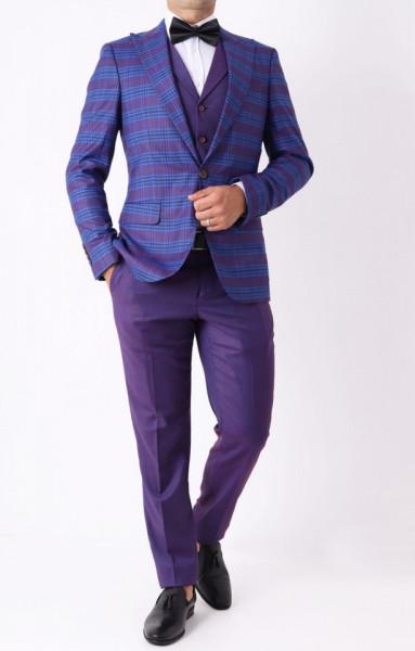 Costum slim fit Gandi - Cumpără îmbrăcăminte și încălțăminte de calitate cu un stil aparte mereu în ton cu moda, prețuri accesibile și reduceri reale, transport în toată țara cu plata la ramburs - Deppo.ro