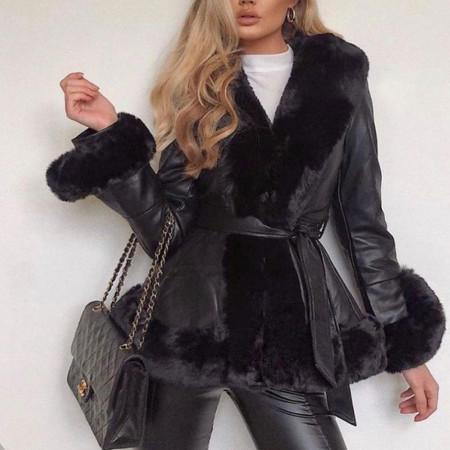 Palton Kylie - Palton damă, îmblanit in interior. Mărimi universale. Potrivit pentru sezonul rece. - Deppo.ro