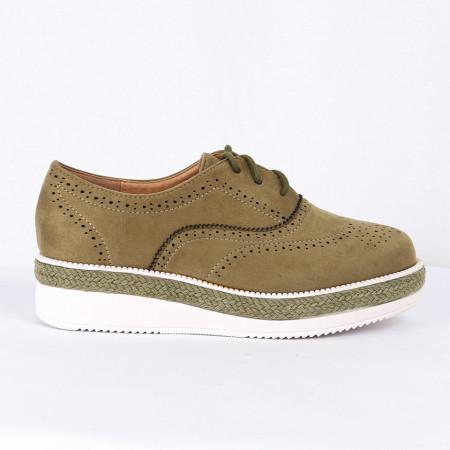 Pantofi pentru dame Cod B0002 Verzi - Pantofii îți transformă limbajul corpului și atitudinea. Te înalță fizic și psihic! Pantofi pentru dame din piele ecologică lăcuită - Deppo.ro