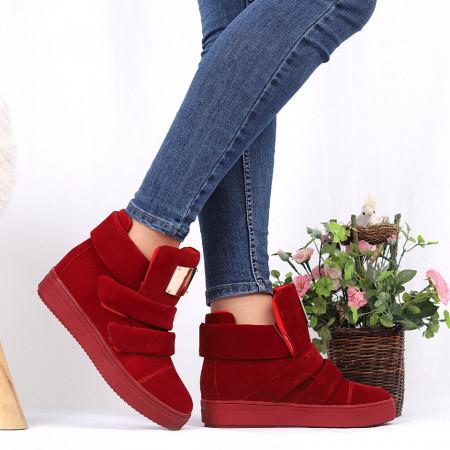 Pantofi Sport Cod 692 - Pantofi sport din piele ecologică întoarsă  Închidere prin scai  Foarte comfortabili - Deppo.ro