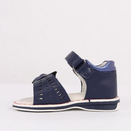 Sandale pentru fete cod CP60 Bleumarin - Sandale pentru fete foarte comode ideale pentru sezonul estival - Deppo.ro