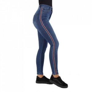 Pantaloni de blugi pentru dame cod 1139 Albaștri
