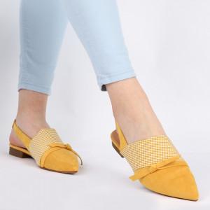 Balerini pentru dame WG0001 Yellow