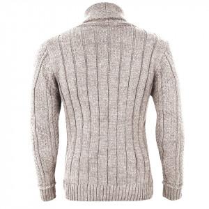 Bluză Brian Bej Deschis - Bluză de culoare bej deschis, bluza este cel mai versatil articol vestimentar din sezonul rece, o piesă cu reputaţie a stilului casual având compoziţia 50% lână 50% acrilic - Deppo.ro