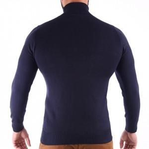 Bluză Maximilian Denim - Bluza simplă este cel mai versatil articol vestimentar din sezonul rece, o piesă cu reputaţie a stilului casual având compoziţia 81% Viscoză şi 19% Nailon - Deppo.ro