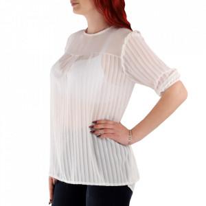 Bluză pentru dame cod 92454 Albă