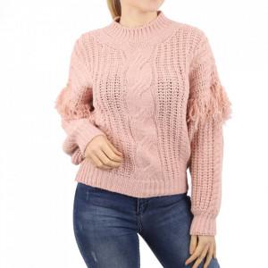 Bluză pentru dame cod F50 Pink