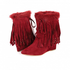 Botine Abigayle Red