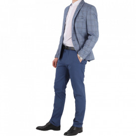 Costum slim fit 16754 Albastru