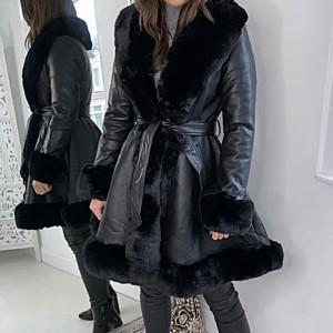 Palton Kim Black