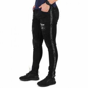 Pantaloni de blugi pentru bărbați cod P5346 Negri