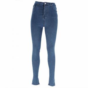 Pantaloni de blugi pentru dame cod 1010 Albaștri